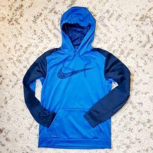 NIKE | blue 💙 swoosh hoodie